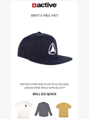 Active Ride Shop - Last Chance To Grab A Free Icon Hat