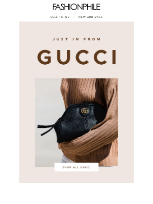 FASHIONPHILE - Just in from Gucci