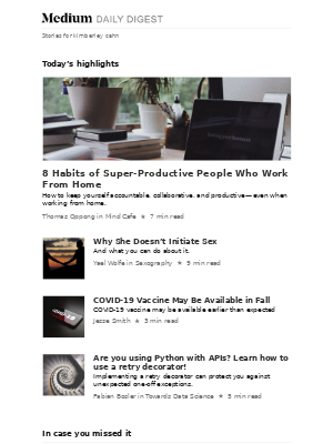 8 Habits of Super-Productive People Who Work From Home | Thomas Oppong in Mind Cafe