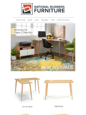 National Business Furniture - Brand new collections that help you work better at home >>