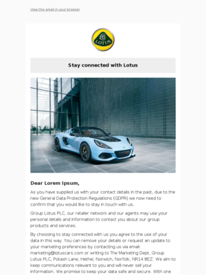 - Stay connected with Lotus