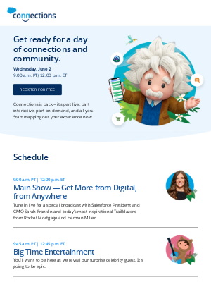 Salesforce - Start planning your Connections experience