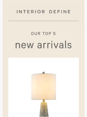 Interior Define - Shop our favorite new arrivals
