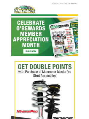 O'Reilly Auto Parts - The New Sale Ad is Here!