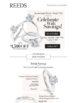 Last Chance To Save $1500 Off Solitaires 💍