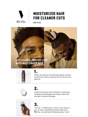 BEVEL - What Your Hair Needs