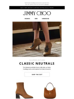 Jimmy Choo - Classic Neutrals   The Edit