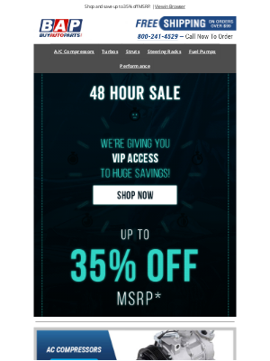 Buy Auto Parts - 🌟 VIP Sale: Up To 35% OFF