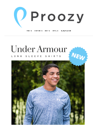 Proozy - Under Armour Long Sleeve 2 for $35!