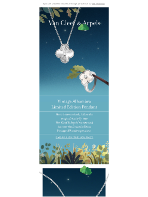 Van Cleef & Arpels - A symbol of luck for this Holiday Season