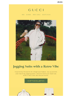 Discover Jogging Suits with a Retro Influence
