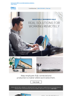 Dell - Make WFH work for your business