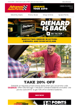 Advance Auto Parts - Get Better Performance and More Savings