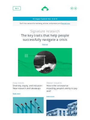 SurveyMonkey - Newsletter: October 2020