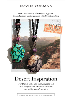 Inspired by Nature: the American Desert