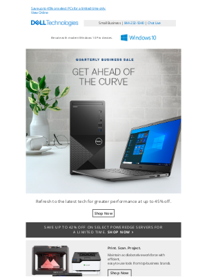 Dell - Quarterly Business Sale brings exceptional savings.