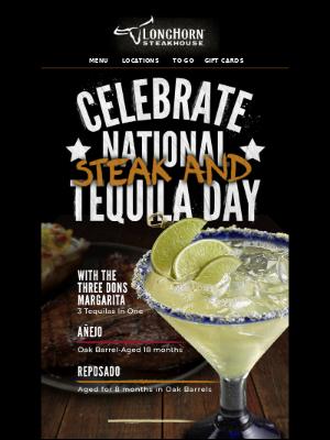 You've got something to celebrate tomorrow.