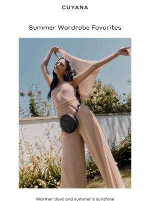 Cuyana - Our Summer Wardrobe Favorites
