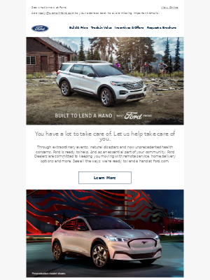Ford Motor Company - Your Ford Newsletter is here!