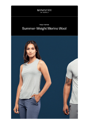 Get to Know Composite: Summer-Weight Wool for Warm-Weather Comfort