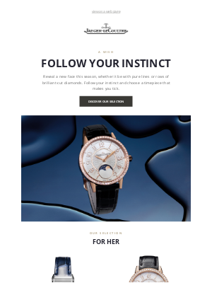 Jaeger-LeCoultre - Mirror your authenticity