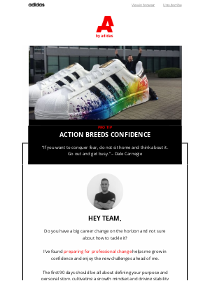 Adidas Group - Optimize your career moves