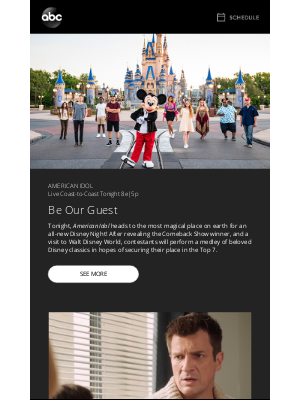 Disney - LIVE TONIGHT: Disney Music, Special Guests, and a Big Reveal on American Idol
