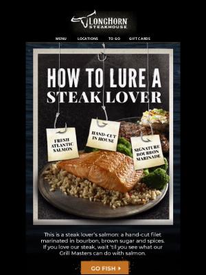 LongHorn Steakhouse - If you love steak...