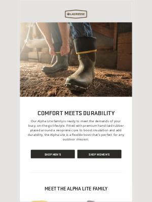 LaCrosse Footwear Inc - The Do-It-All Alpha Lite