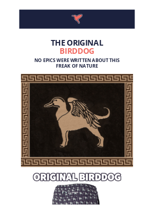 Birddogs Shorts - The Legendary Beast Left Out Of Greek Mythology