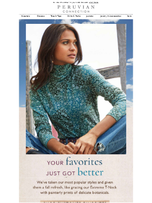 Customer Favorites, Reimagined for Fall!