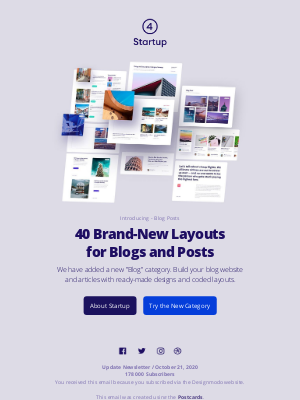 Designmodo - Introducing Blogs: 40 Brand-New Layouts for Blogs and Posts