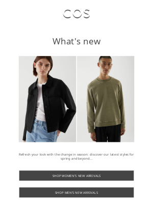 Just arrived: new styles added!