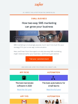 How two-way SMS marketing can grow your business