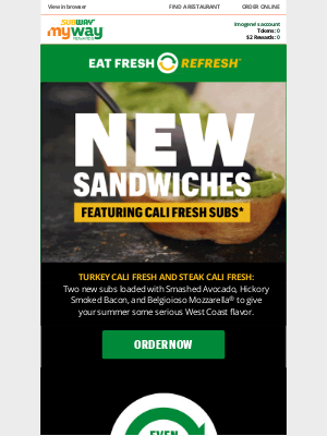 Subway - Meet our ALL-NEW sandwiches!