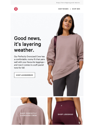 Lululemon - Your favourite leggings have met their match