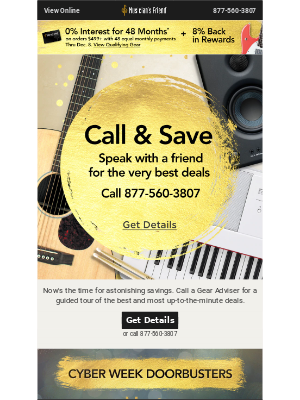 Call and Save