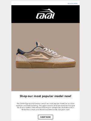 Lakai Footwear - Seasonal Cambridge Colorways