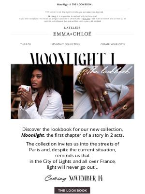 Emma & Chloé US - Day 1!! New lookbook 🌟