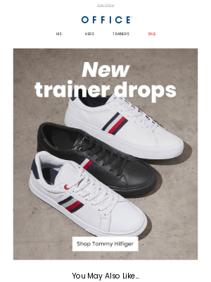 OFFICE Shoes (UK) - New trainer drops