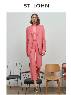St. John Knits - The Best of Pre-Fall 2021