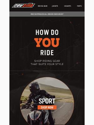 RevZilla - How do YOU ride?