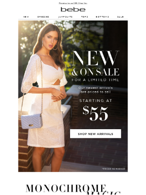 New Arrivals At Great Prices