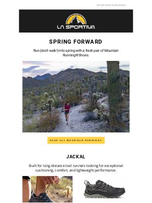 La Sportiva - Mountain Running Shoe Refresh👟