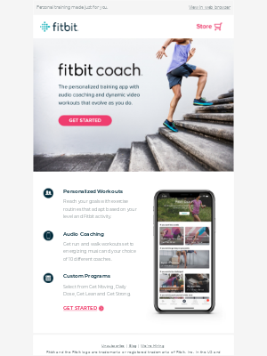 Step it up with Fitbit Coach