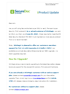 WinMagic email marketing strategy - MailCharts