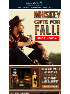 HomeWetBar - The Best Fall Whiskey Gifts Are Here! 🍁
