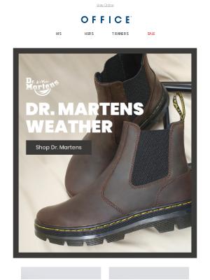 OFFICE Shoes (UK) - Dr. Martens Weather