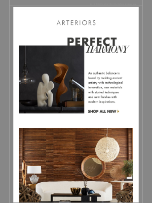 Arteriors Home - Perfect Harmony | Introducing over 350 New Designs