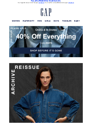 Gap (CA) - This collection just works